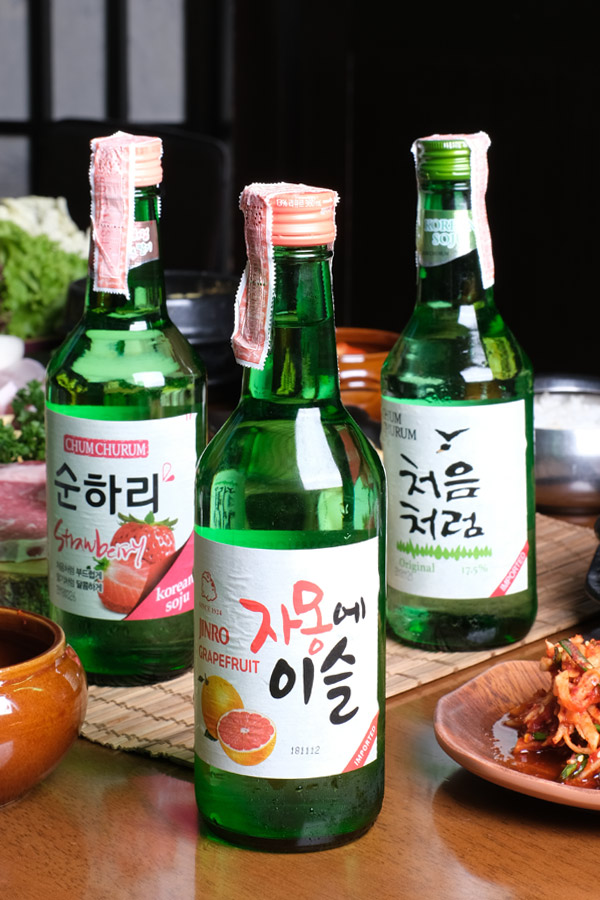 Korean Beverages & Drinks